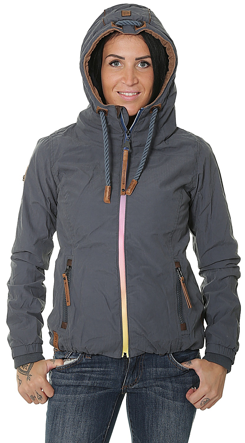 jacket Naketano Du Bist Hier In Werl Dark Bluegray women