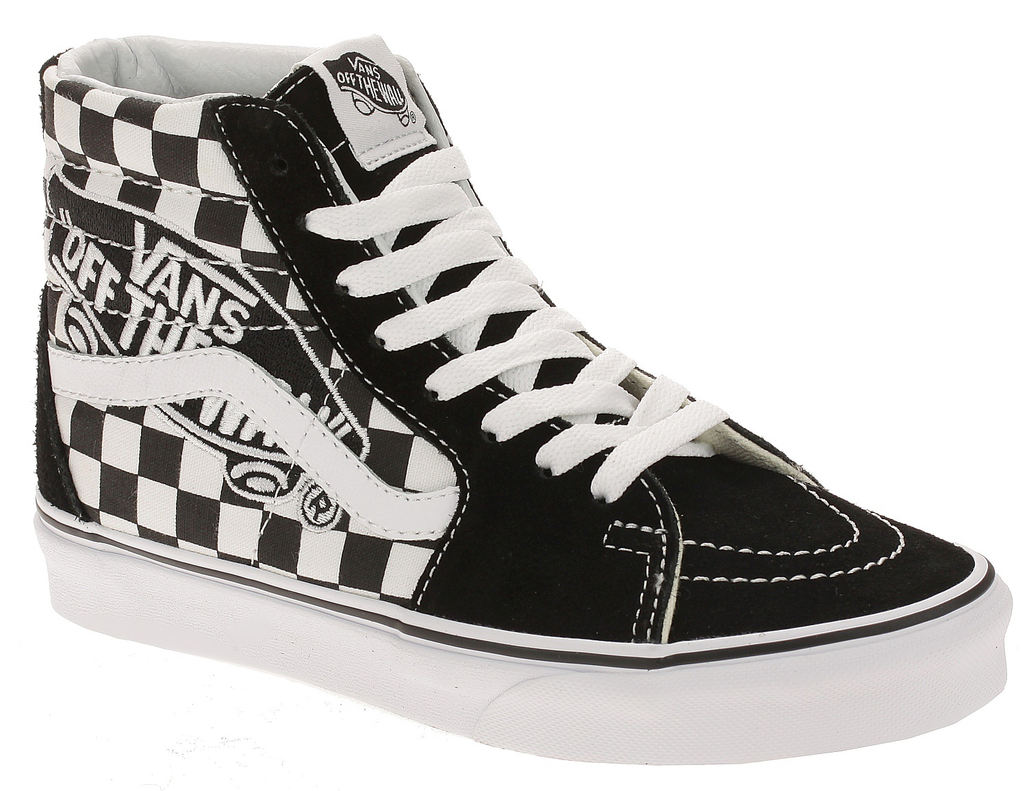 boty Vans Sk8-Hi - Vans Patch Black True White 36 f0622c5a3b