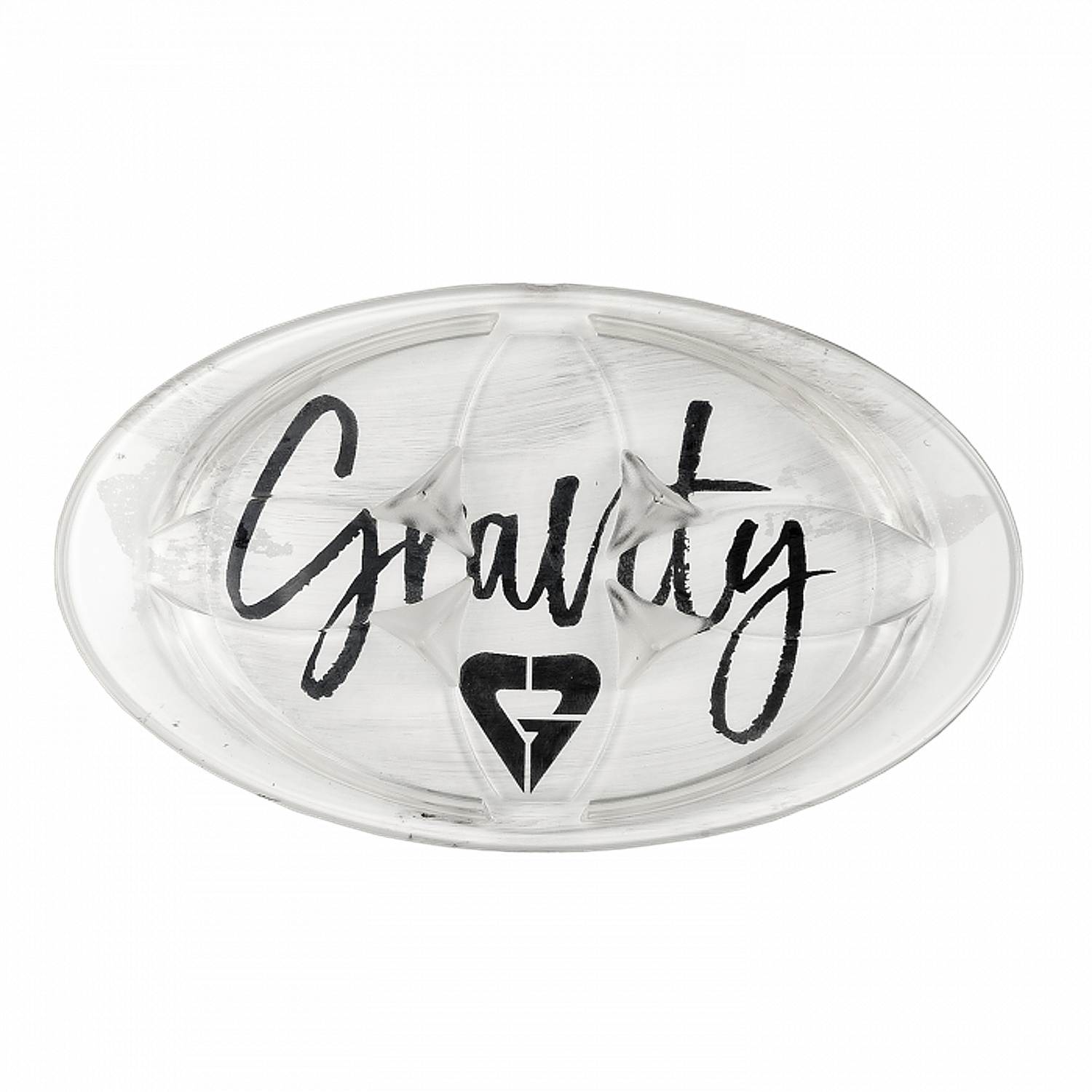 grip Gravity Sirene Mat - Clear one size