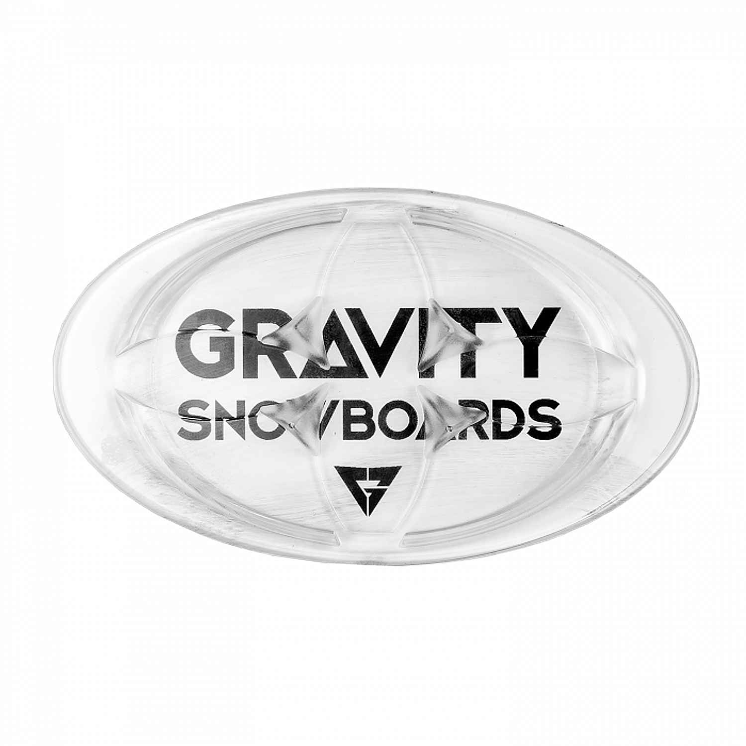 grip Gravity Logo Mat - Clear one size