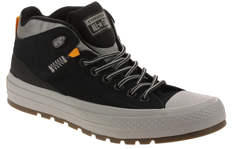 boty Converse Chuck Taylor All Star Street Boot Hi - 162360 Black Black  c91adc5f35