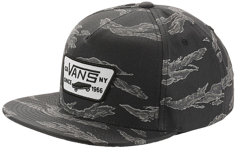 c2ad48b3a94 cap Vans Full Patch Snapback - Black Tiger Camo - men´s - Snowboard shop