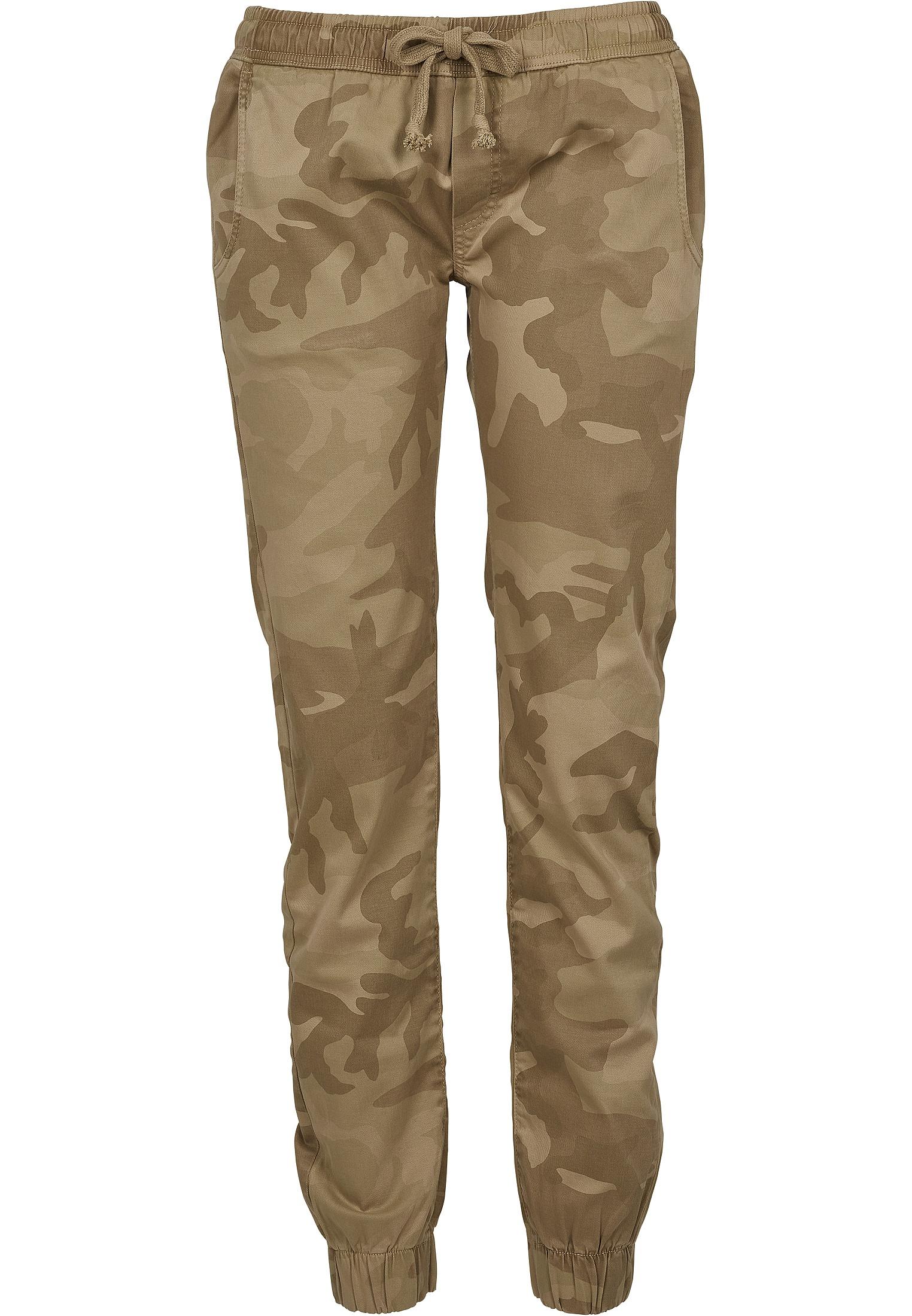 spodnie Urban Classics Camo Jogging/TB1998 - Sand Camouflage