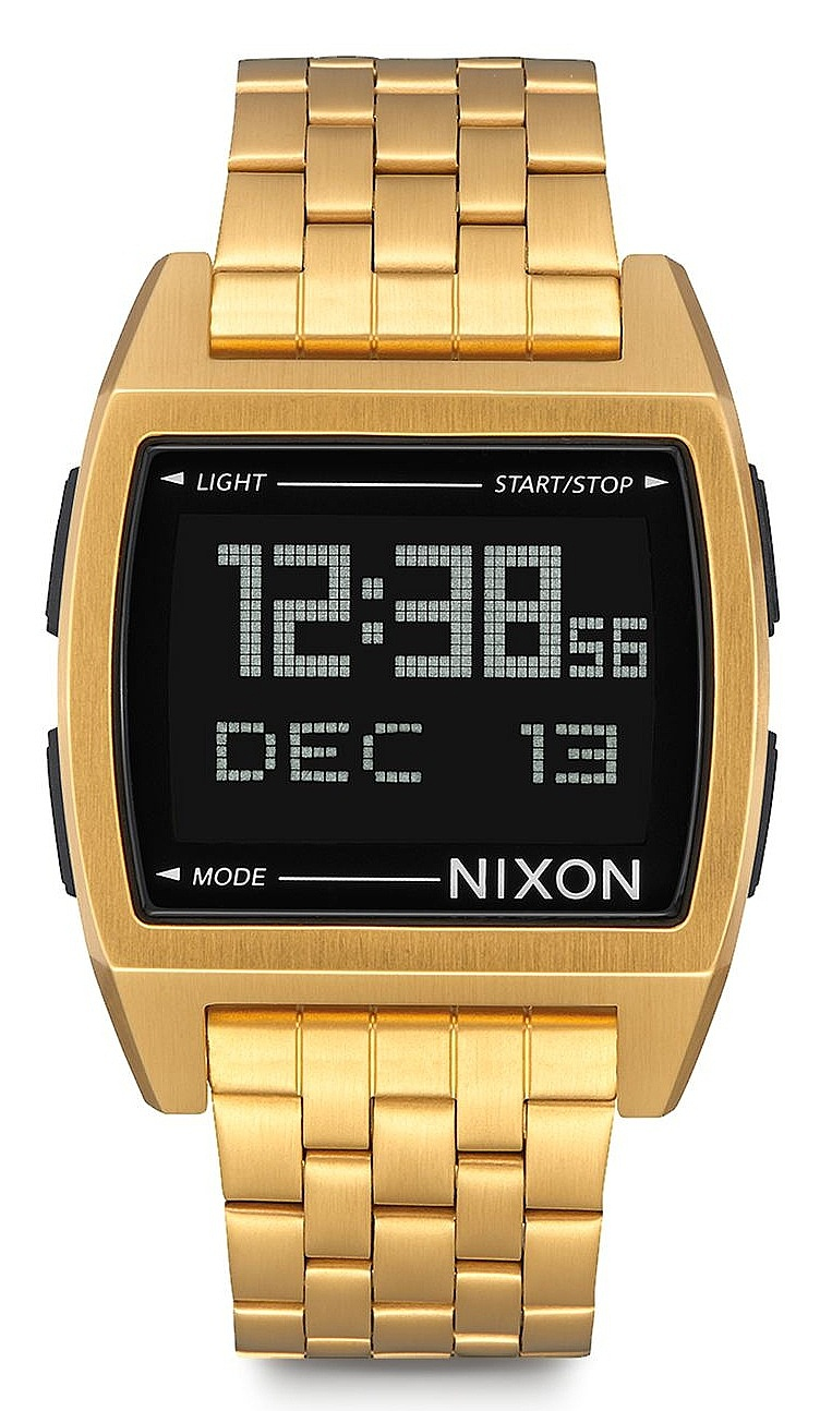 hodinky Nixon Base - All Gold one size