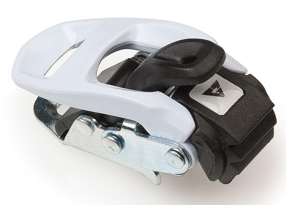 ráčna Gravity Plastic Ankle - White/Black one size