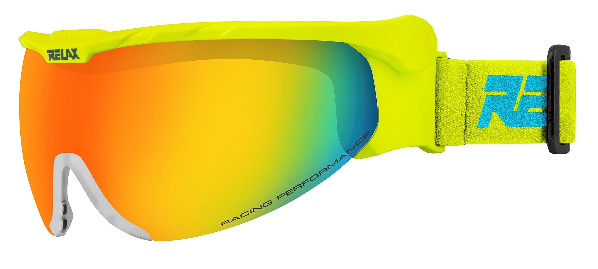okuliare Relax Nordic - HTG27E Matte Neon Yellow Brown Bronze Inferno ... 89a959276f4