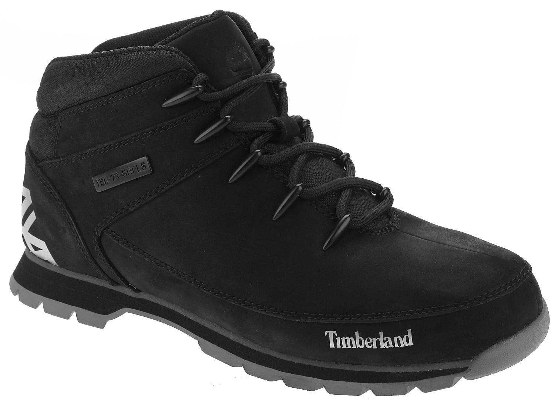 topánky Timberland Euro Sprint Hiker - A1RI9 Black Nubuck - Snowboard shop 44f4c556f89
