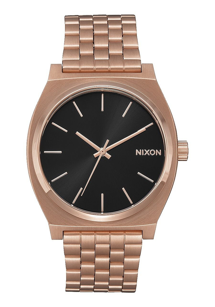 hodinky Nixon Time Teller - All Rose Gold/Black Sunray one size