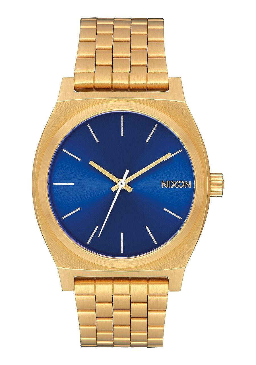 hodinky Nixon Time Teller - All Gold/Blue Sunray one size