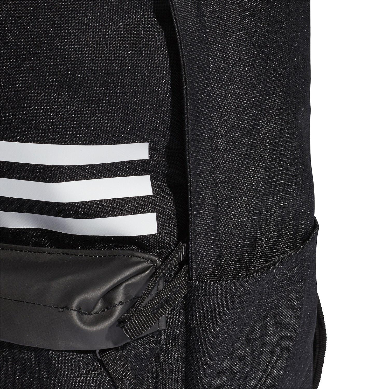 ac99feeff6 ... batoh adidas Performance Classic Pocket 3 Stripes - Black Black White  ...