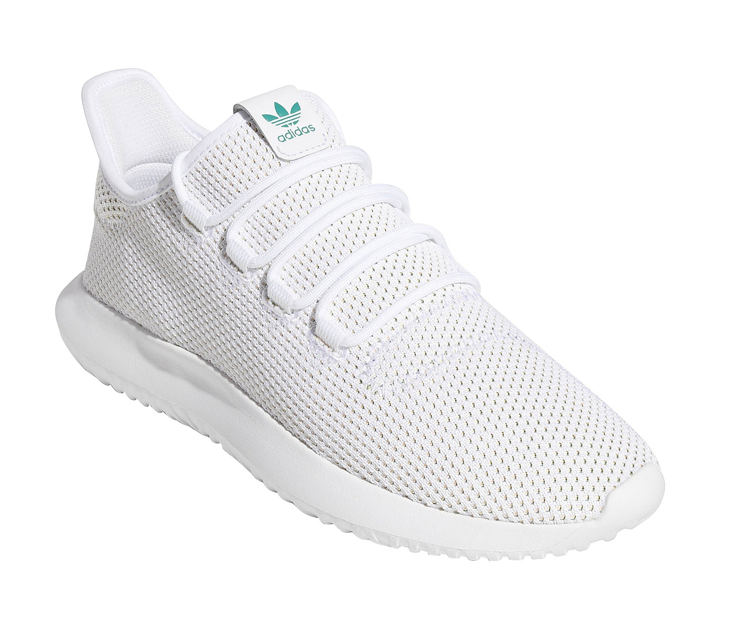 lowest price 58f50 4e785 shoes adidas Originals Tubular Shadow - White/Active Green ...