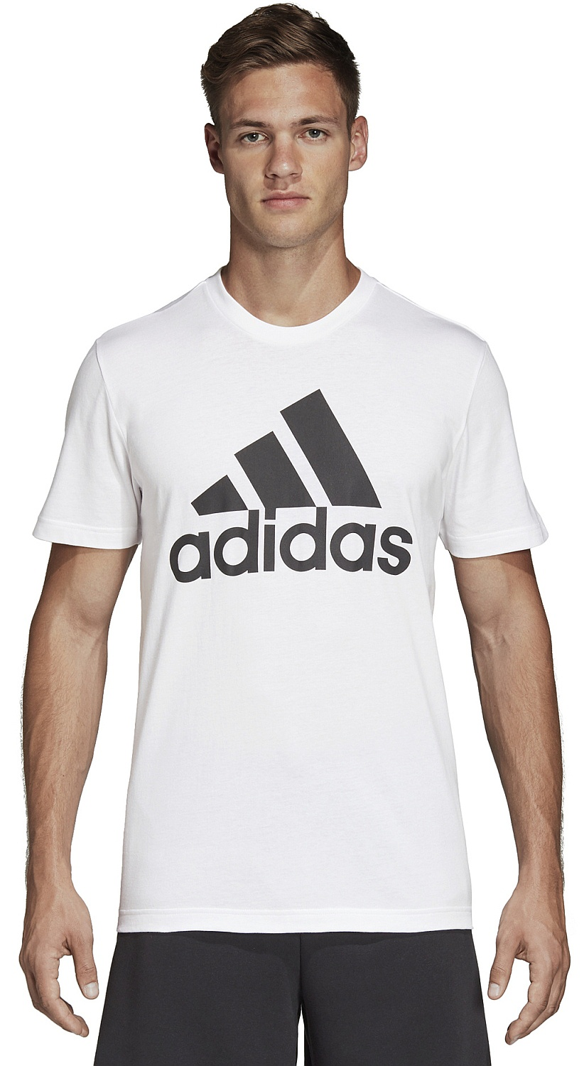 tričko adidas Performance Must Haves Badge Of Sport - White Black - Snowboard  shop d62d41f383b