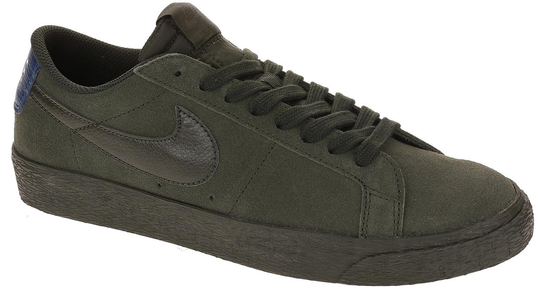 boty Nike SB Zoom Blazer Low - Sequoia/Sequoia/Blue Force 45