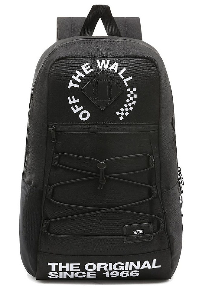 batoh Vans Snag - Vans Black White 24.5 L c7c49c634f9