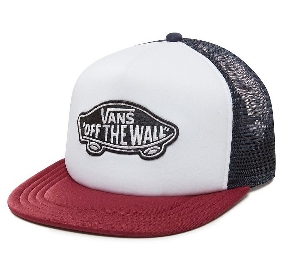 kšiltovka Vans Classic Patch Trucker - White Rhumba Red one size 0f275a0401