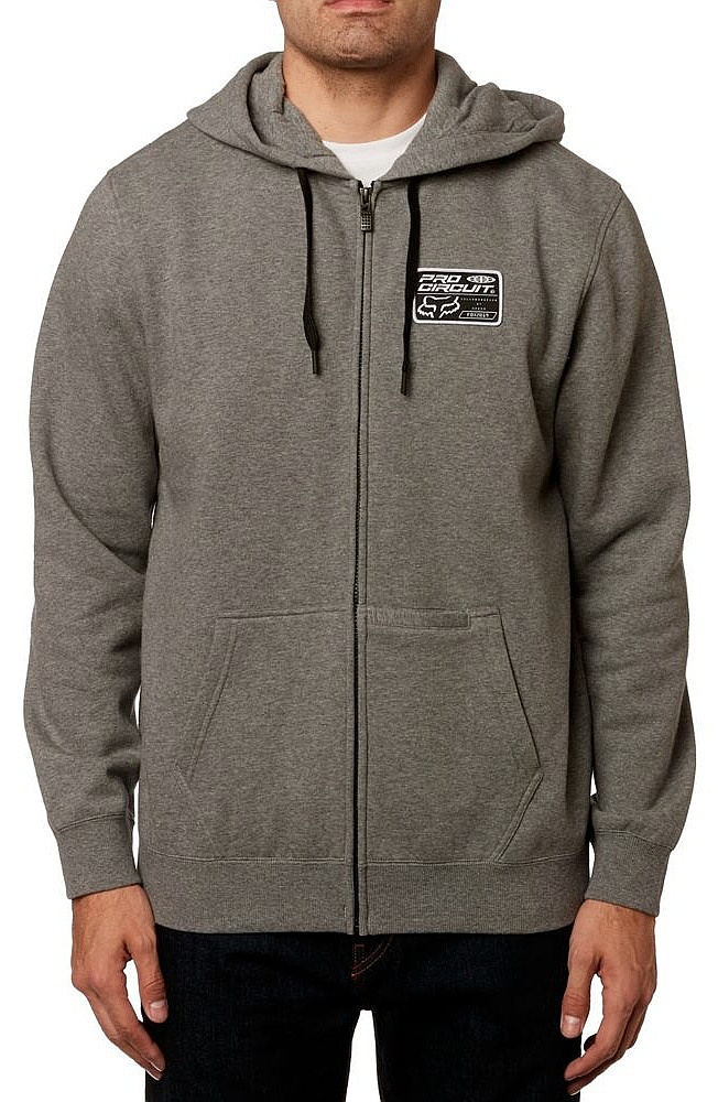 mikina Fox Fox Pro Circuit Zip - Heather Graphite M