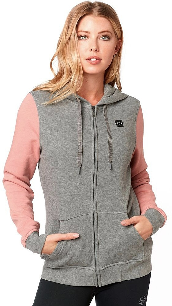 ea69daae320 mikina Fox Everglade Zip - Heather Graphite L