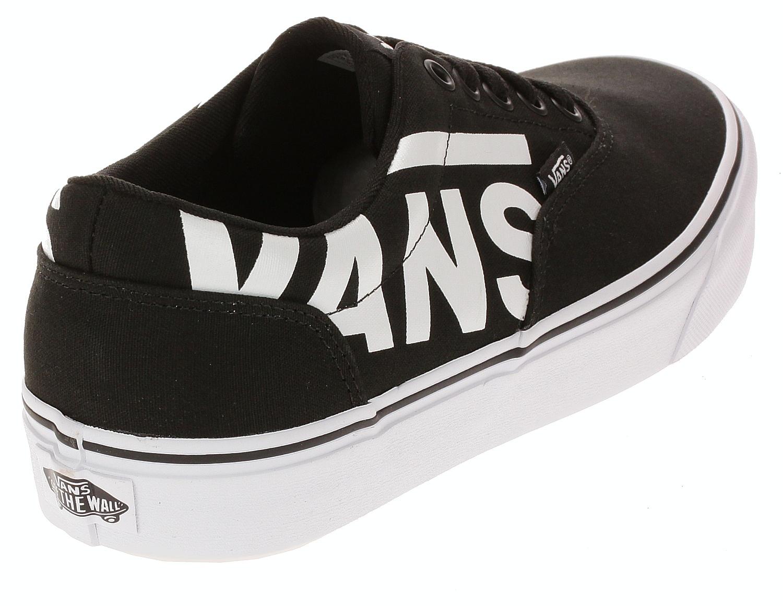 buty Vans Doheny - Big Logo/Black/White