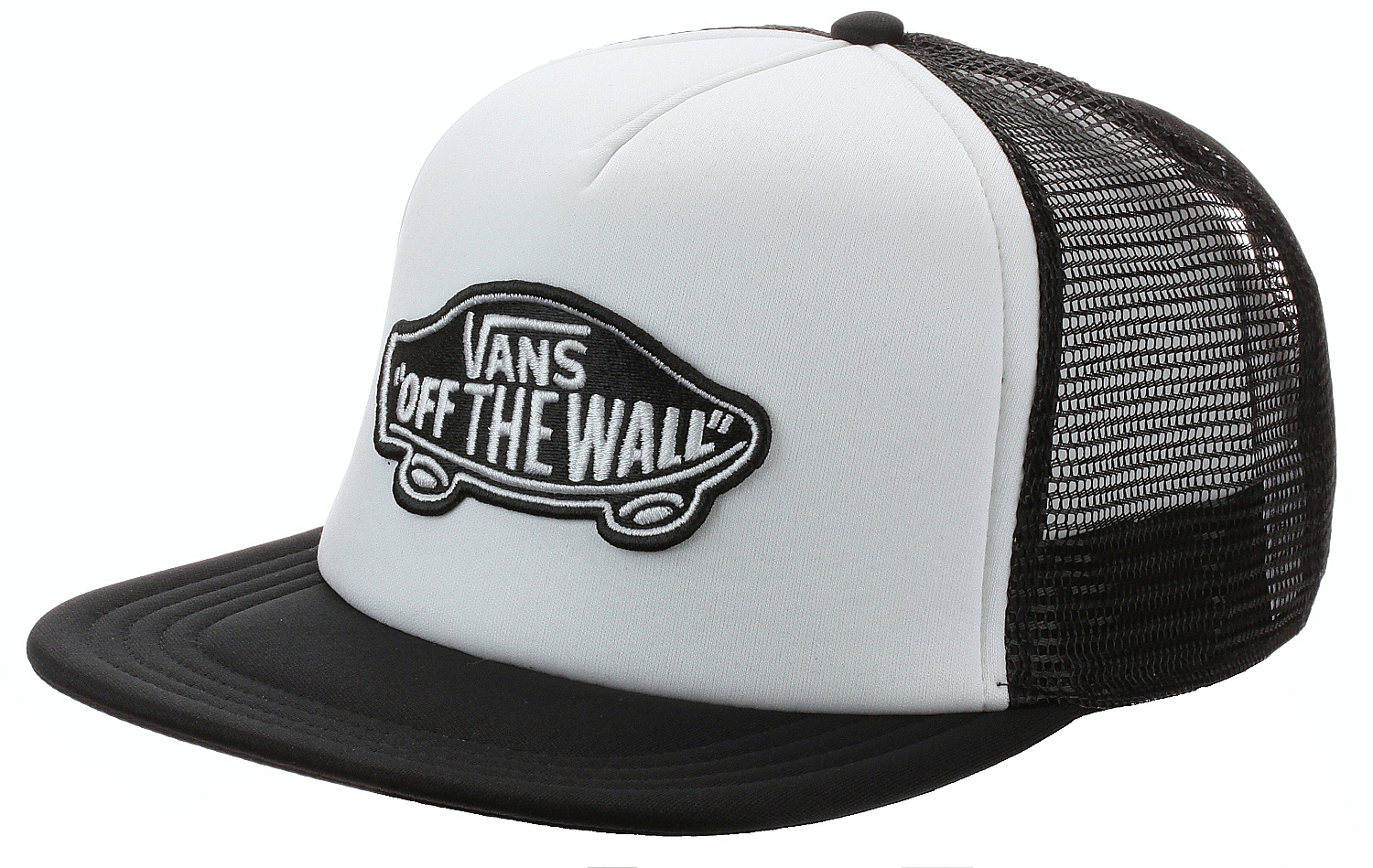 93ce25ac1ae kšiltovka Vans Classic Patch Trucker - White Black one size