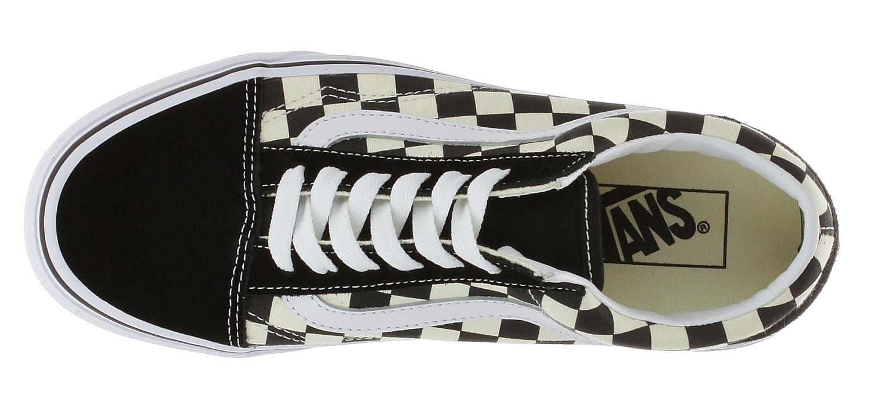 topánky Vans Old Skool - Primary Check/Black/White