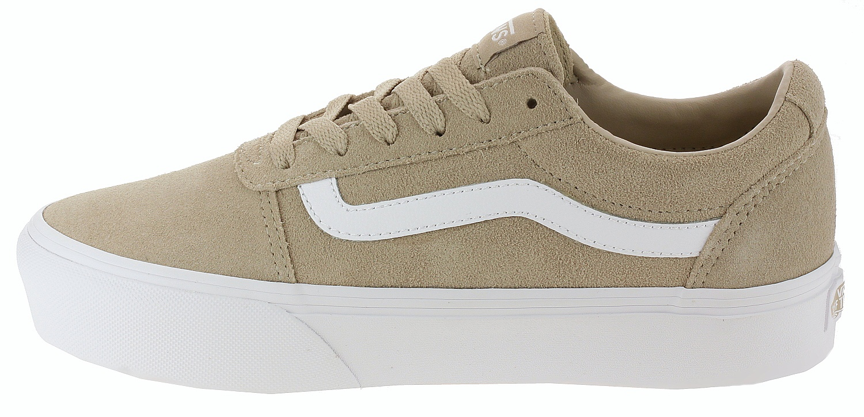 shoes Vans Ward Platform - Suede/Humus - women´s - Snowboard shop ...