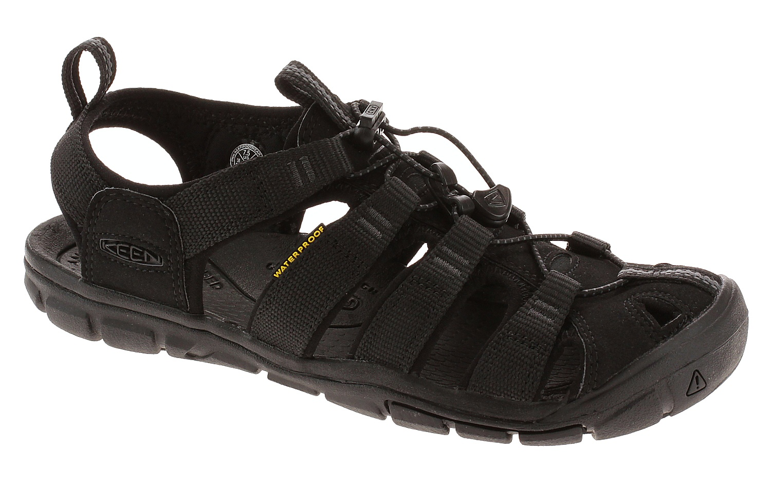 aa5a2c44927d boty Keen Clearwater CNX - Black Black 39