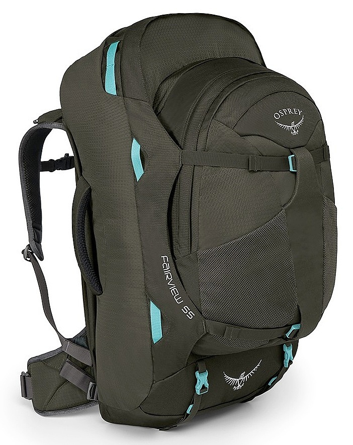 batoh Osprey Fairview 55 - Misty Gray 55 L