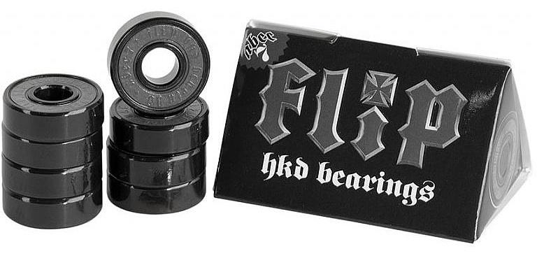 ložiska Flip HKD Abec 7 - Black one size