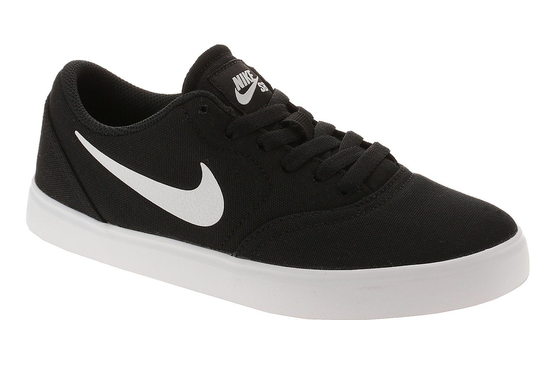 boty Nike SB Check Canvas GS - Black/White 38