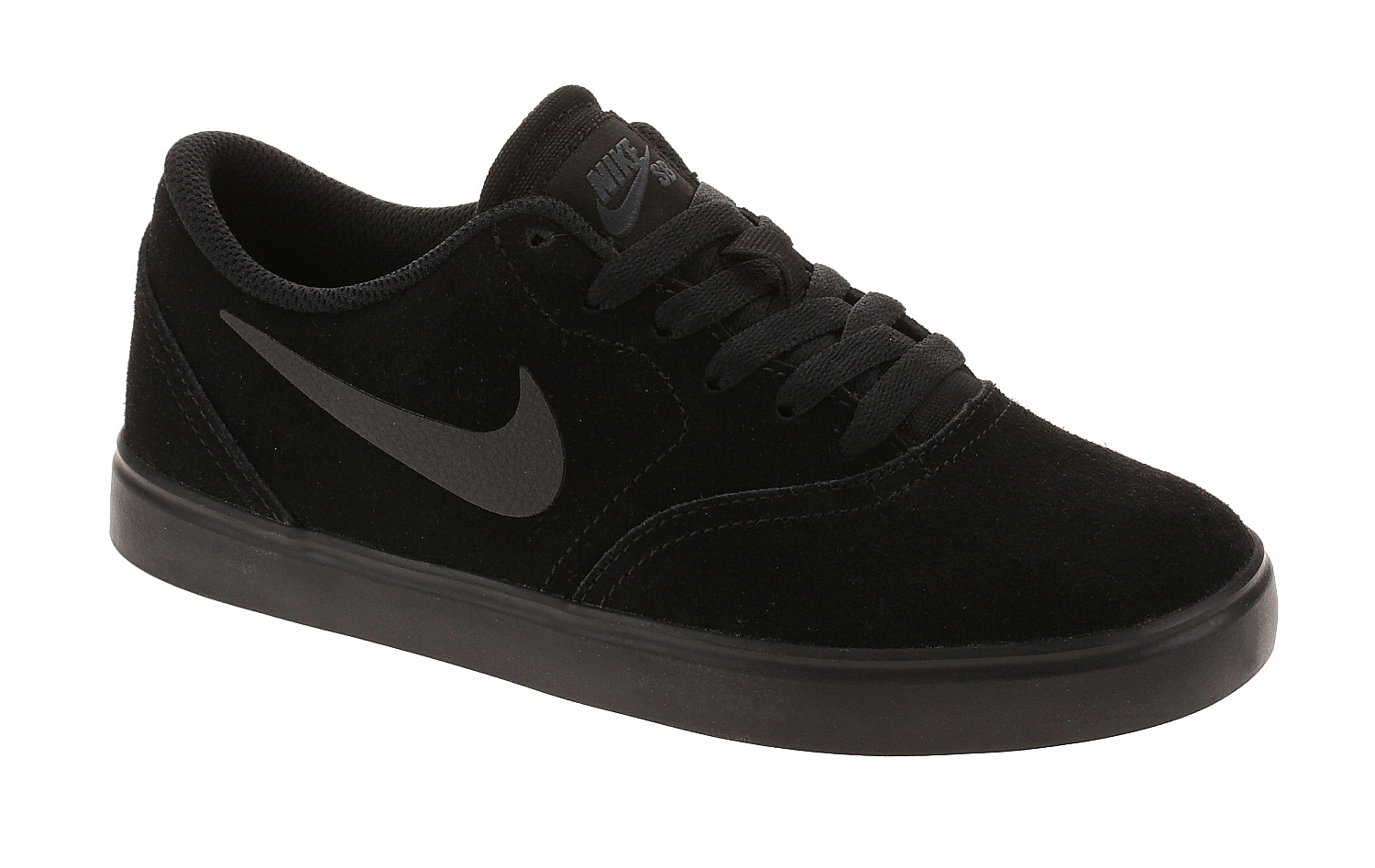Medición Dificil cinta  shoes Nike SB Check Suede GS - Black/Black/Anthracite - unisex ...