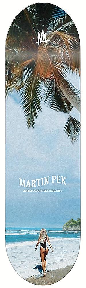 skateboardová deska Ambassadors Martin Pek - Paradise 8.25/M