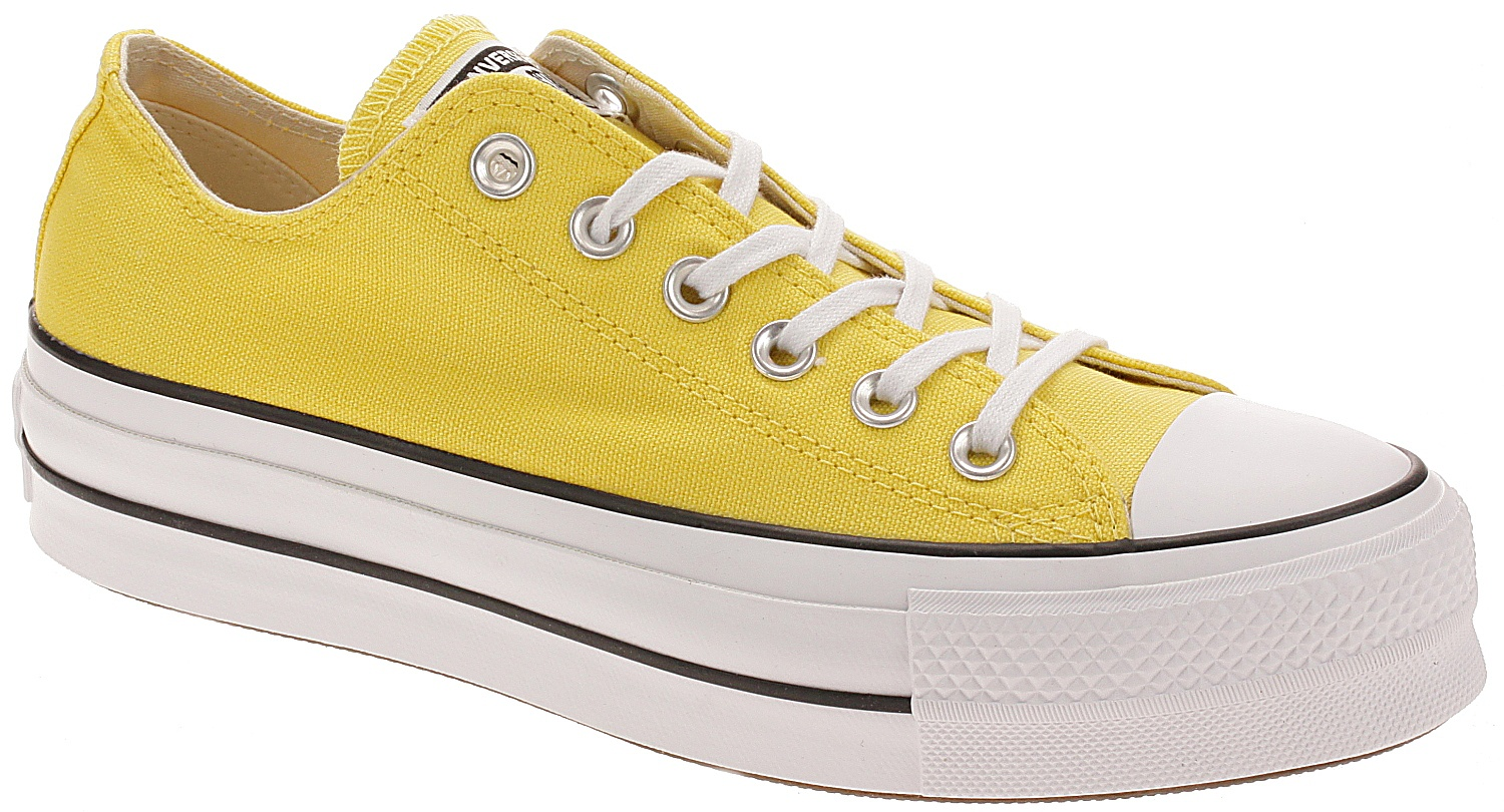 cfec666c30f09 boty Converse Chuck Taylor All Star Lift OX - 564385/Butter Yellow/Black/
