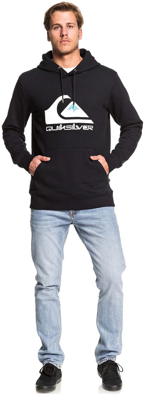 bluza Quiksilver Omni Logo Screen - KVJ0/Black