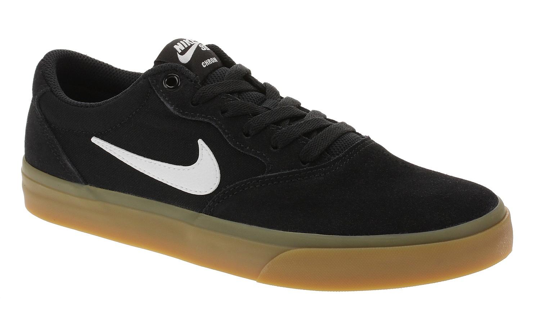 boty Nike SB Chron SLR - Black/White/Black/Black 41