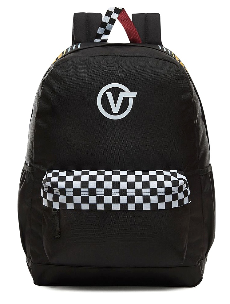 backpack Vans Sporty Realm Plus - Black/Final Lap - women´s