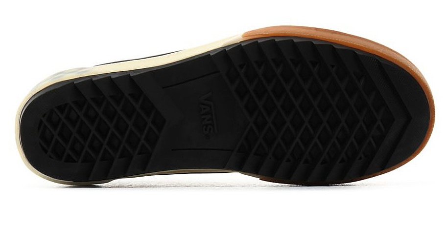 Schuhe Vans SK8-Hi Stacked - Black Checkerboard
