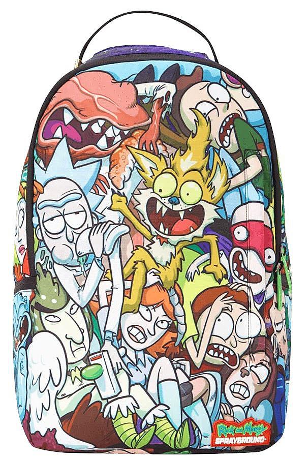 zaino Sprayground B2111 - Rick And Morty Crammed 20 L