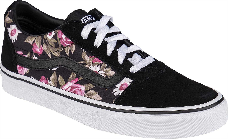 boty Vans Ward - Roses/Black
