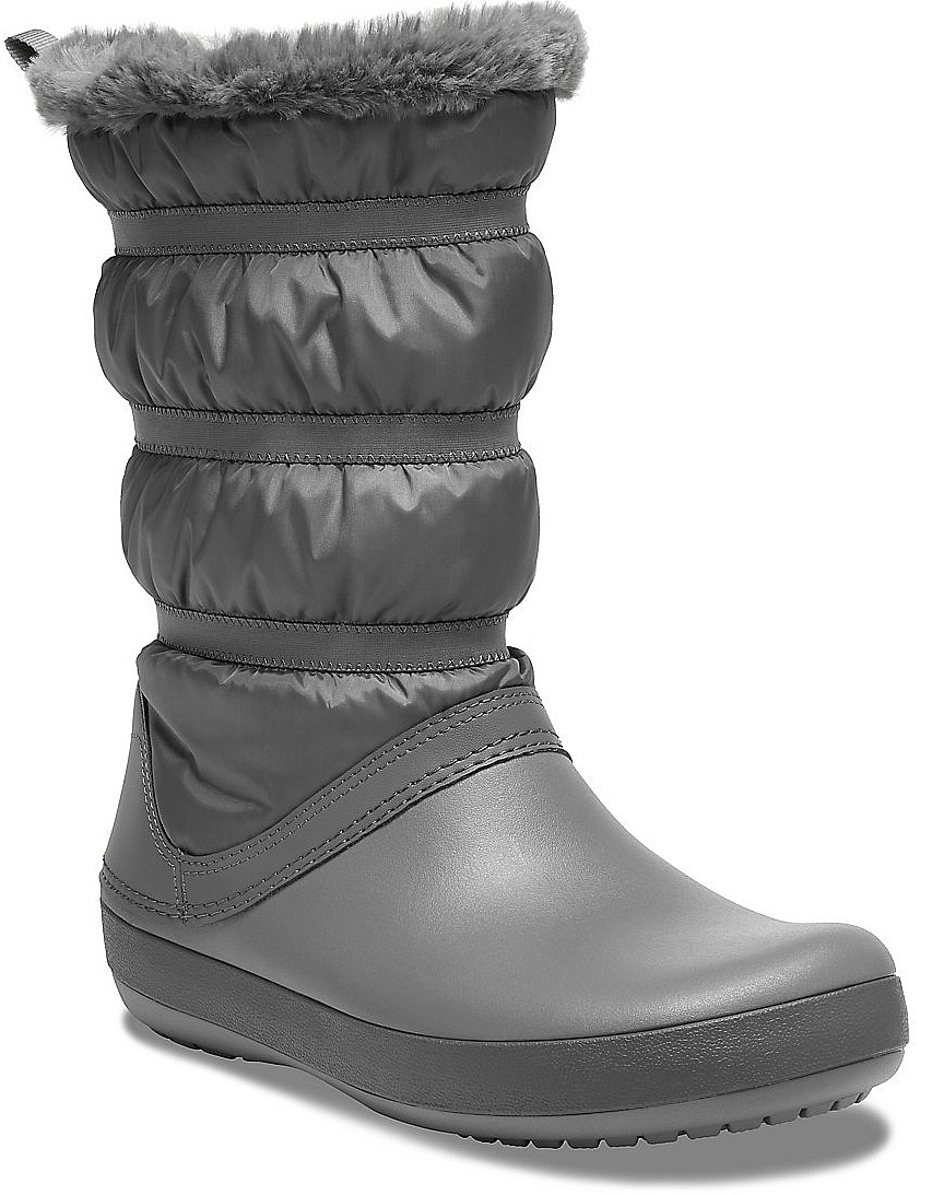 boty Crocs Crocband Winter Boot - Charcoal 36/37