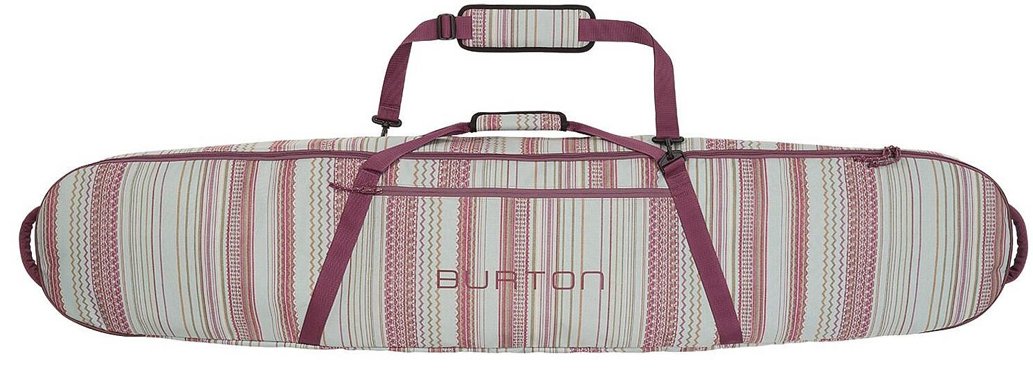 vak Burton Gig Bag - Aqua Gray Revel Stripe Print 166 cm