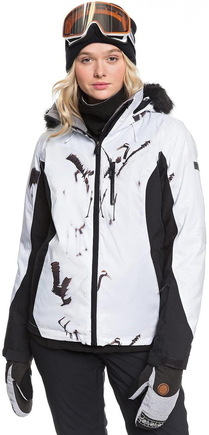 bunda Roxy Jet Ski Premium - KVJ2/True Black White Birds L
