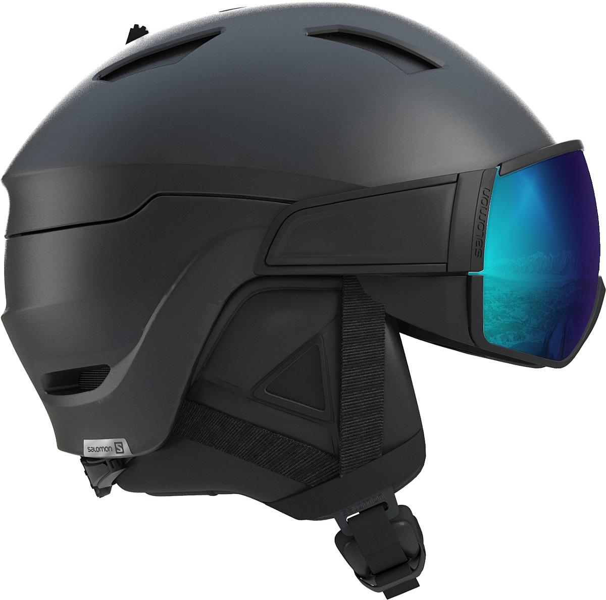 helma Salomon Driver S - Black L