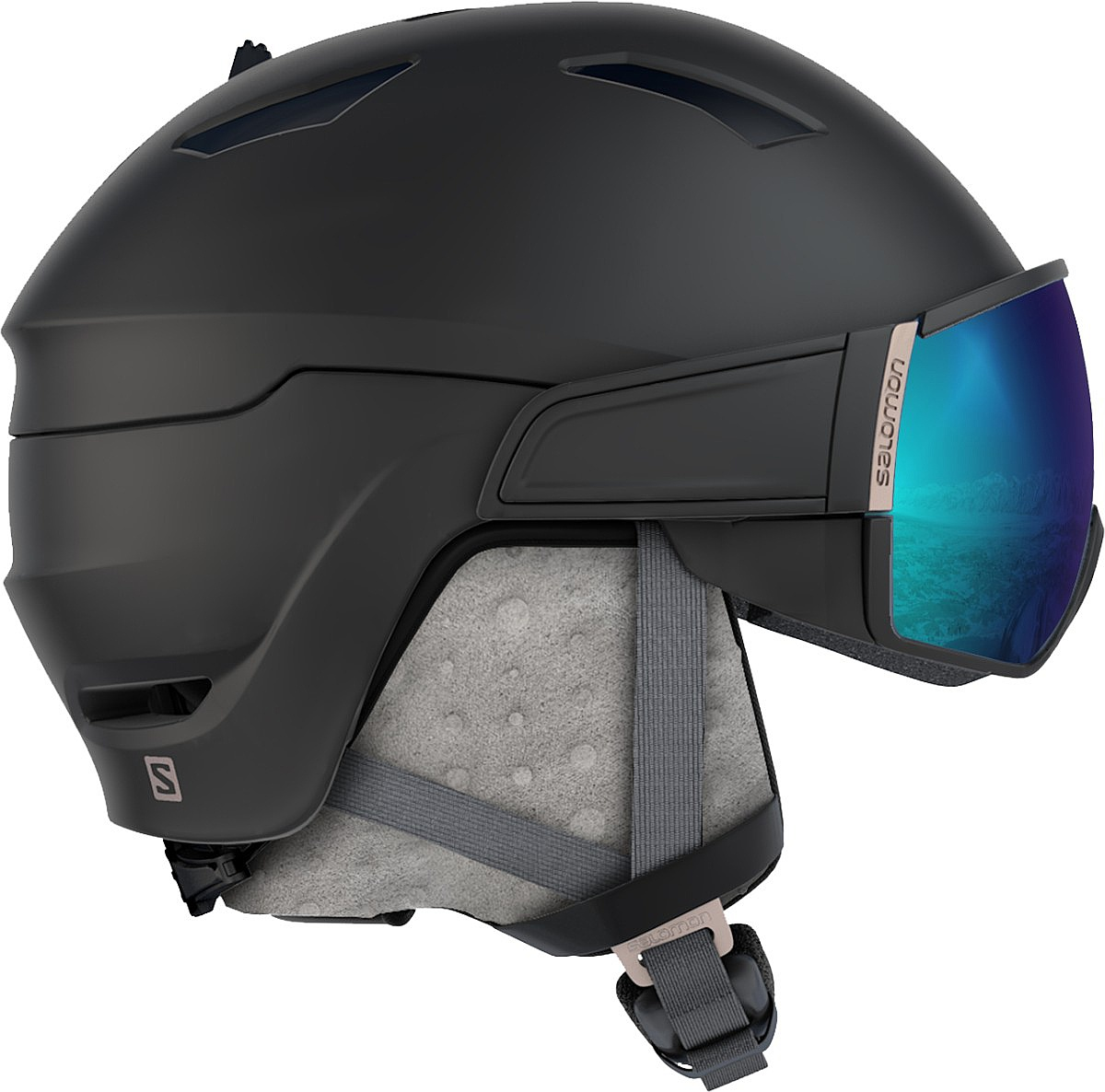 helma Salomon Mirage S - Black/Rose Gold S