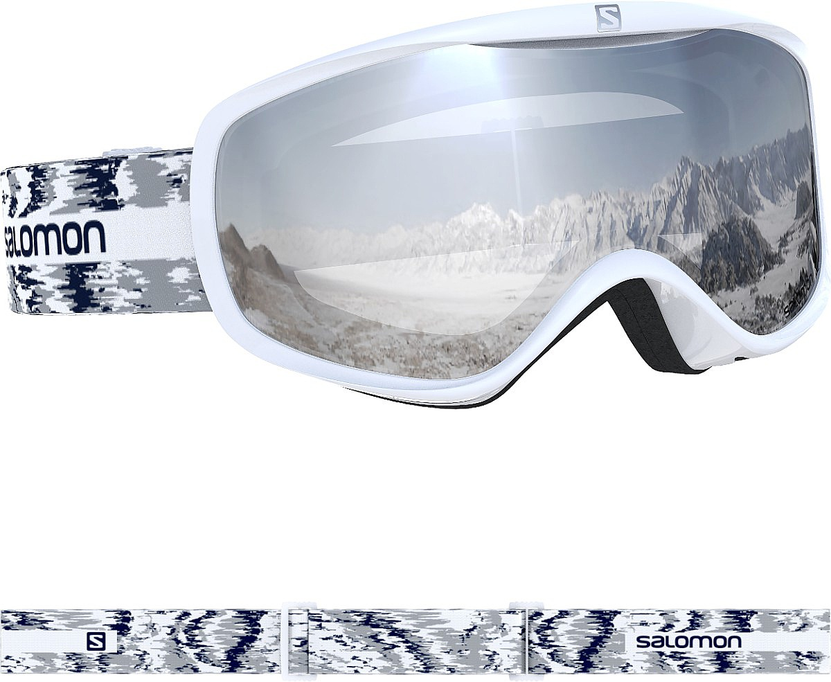 brýle Salomon Sense - White Glitch one size