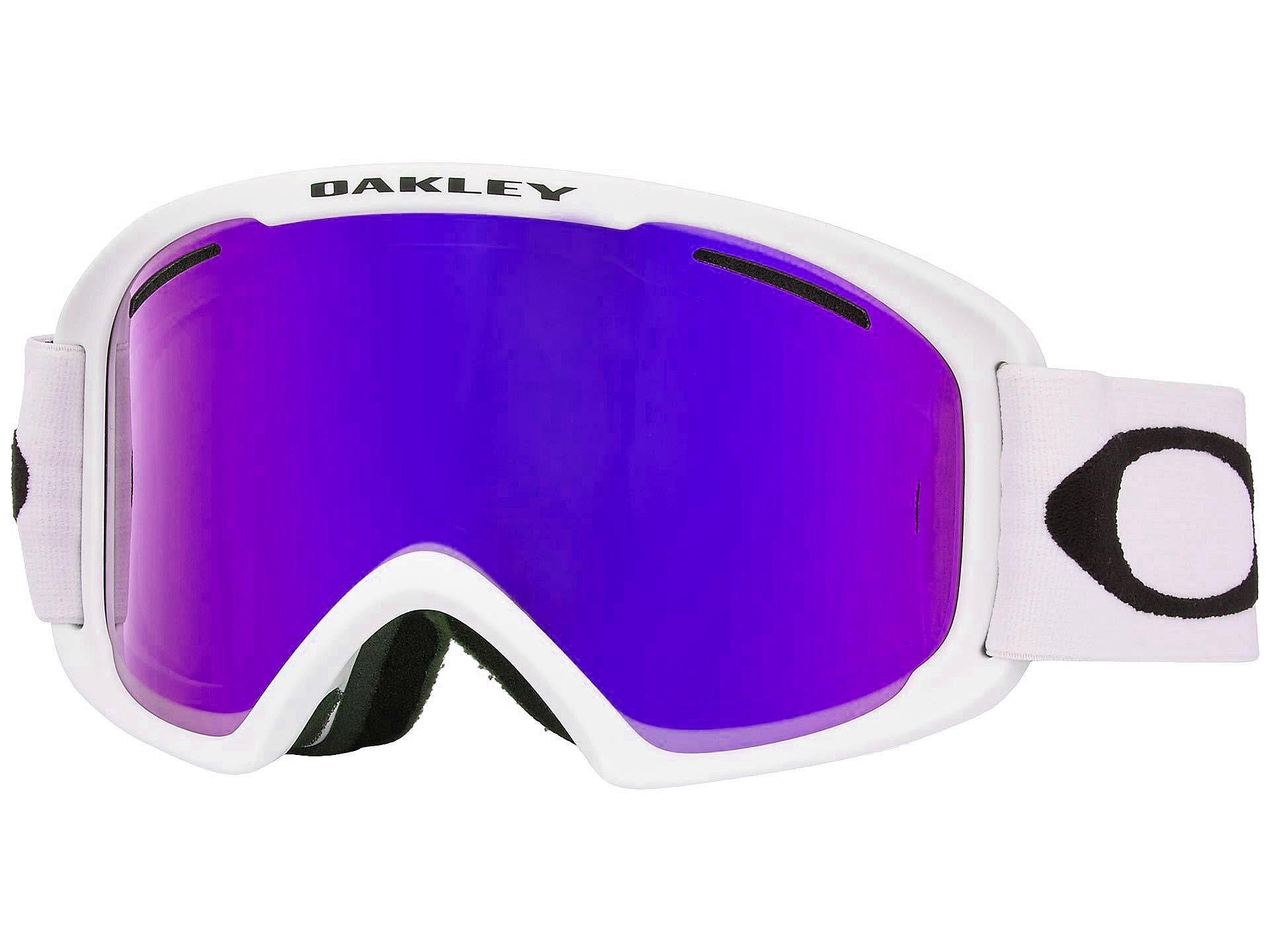 brýle Oakley O Frame 2.0 Pro XL - Matte White/Violet Iridium & Persimmon one size