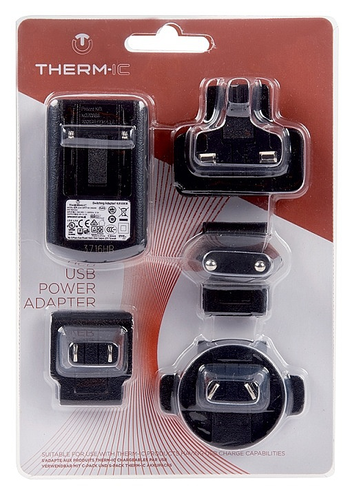 adaptér Therm-ic Spa T-IC USB Power 4 Pins - Black one size