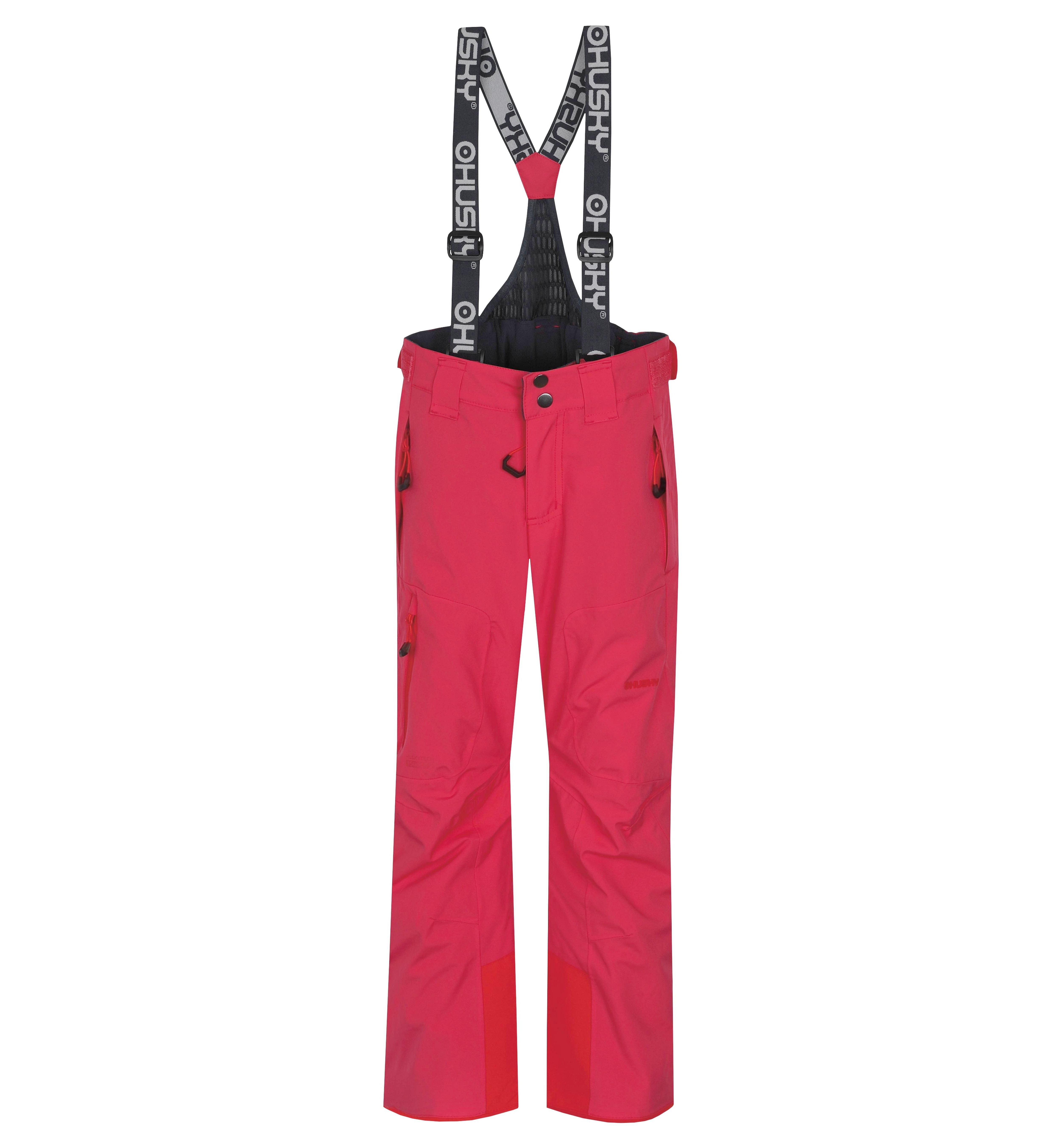 kalhoty Husky Zeus J - Bright Pink 164-170