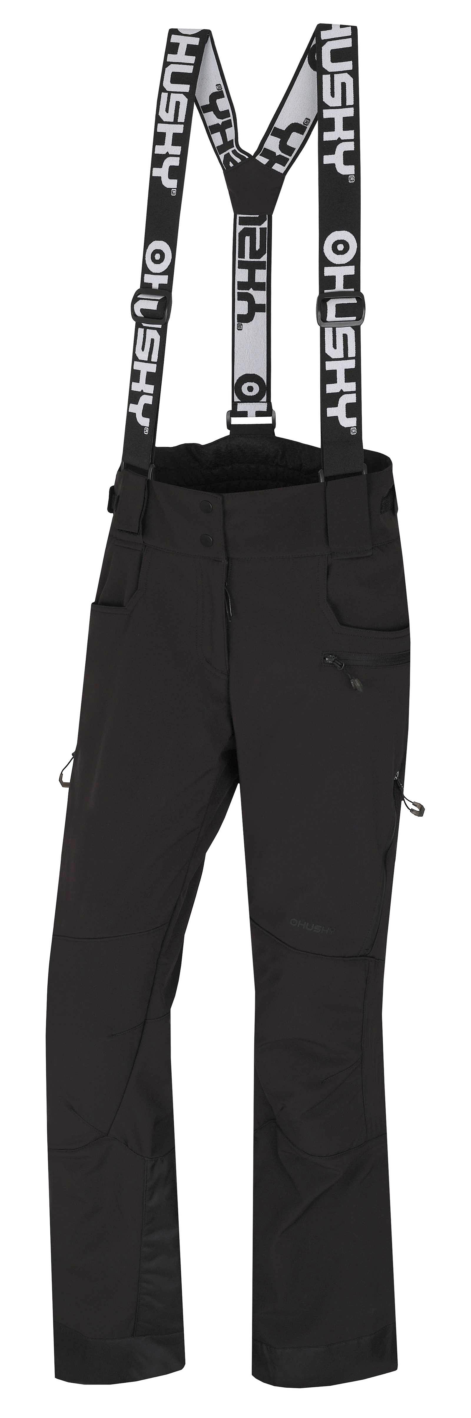 kalhoty Husky Galti L - Black L