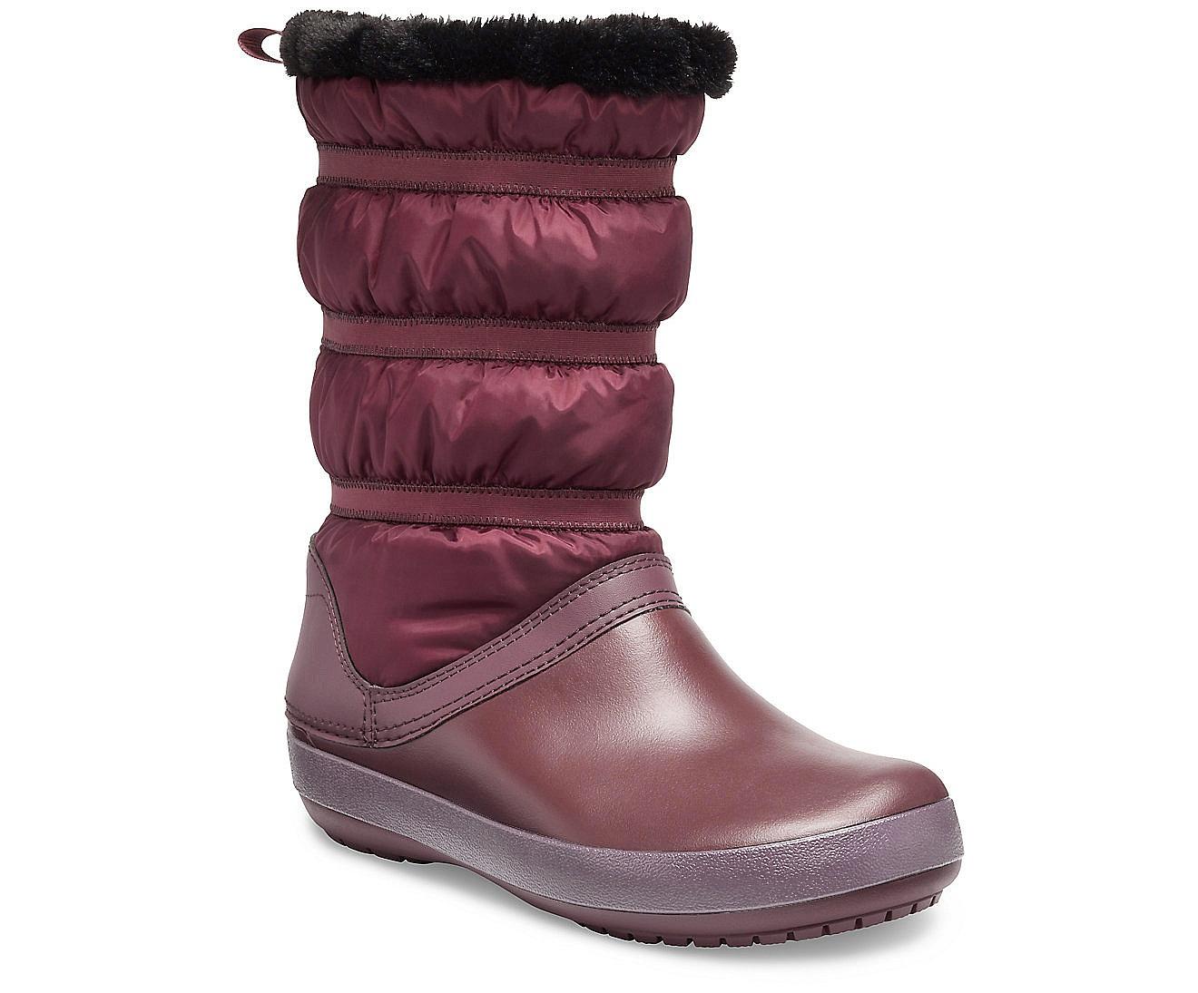 boty Crocs Crocband Winter Boot - Burgundy 36/37