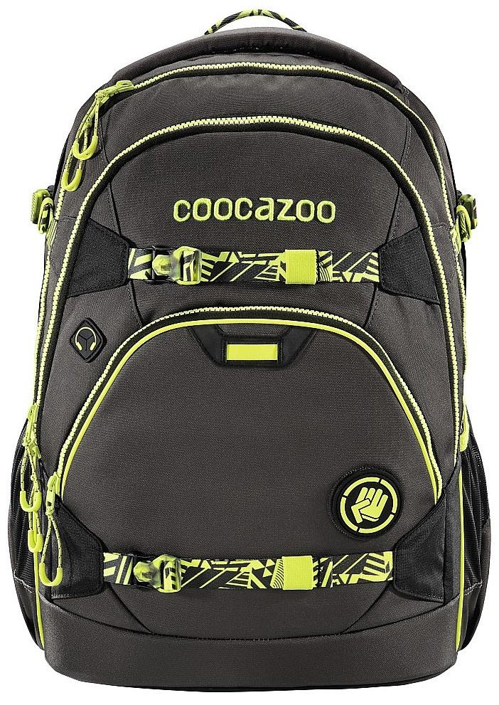 batoh Hama - Coocazoo ScaleRale TecCheck - 183846/Neon Yellow 30 L